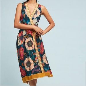 Maeve by Anthropologie Botanical floral wr…
